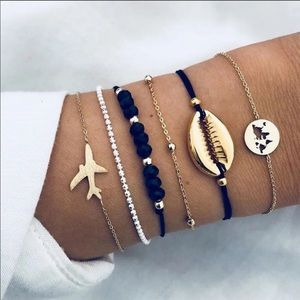 6 Piece Wonderlust Bracelet set
